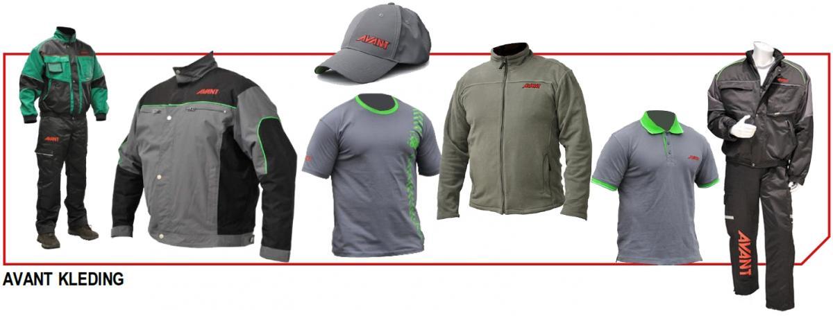 Vandaele Machinery merchandising kleding