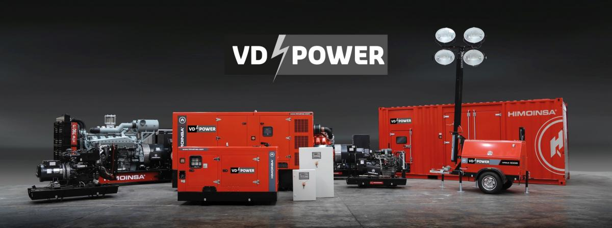 vandaele power product range