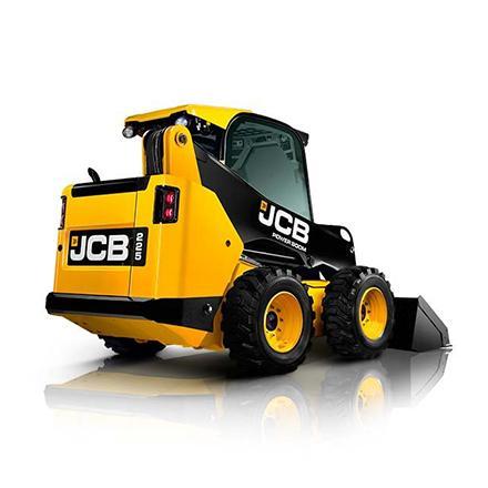 JCB schranklader op banden