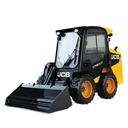 JCB 175 schranklader op banden