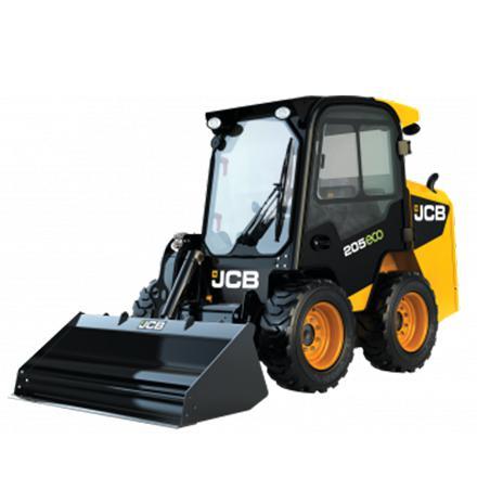 JCB 205 schranklader op banden
