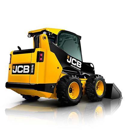 JCB 225 schranklader op banden