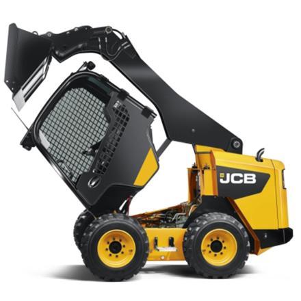 JCB 260 schranklader op banden