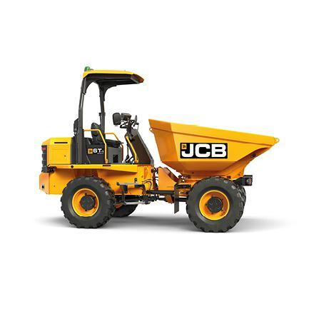 JCB bandendumper 6 ton