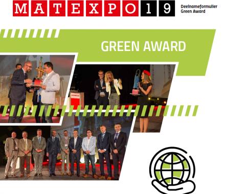 Matexpo Green Award: genomineerd