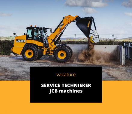 Vacature servicetechnieker JCB
