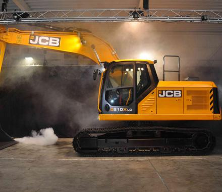 Voorstelling X-series bij Vandaele Machinery