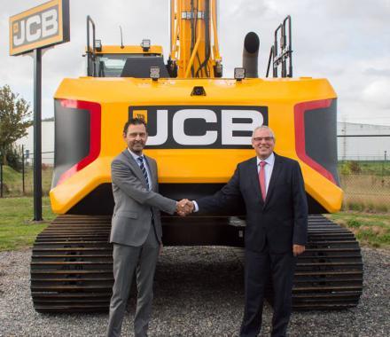 Nieuwe directeur JCB België & JCB Nederland