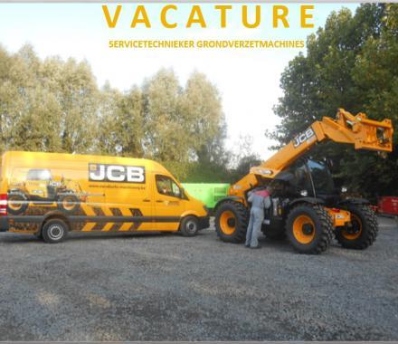 Vacature servicetechnieker grondverzetmachines