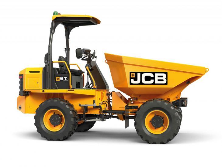 JCB Bandendumpers 6 ton