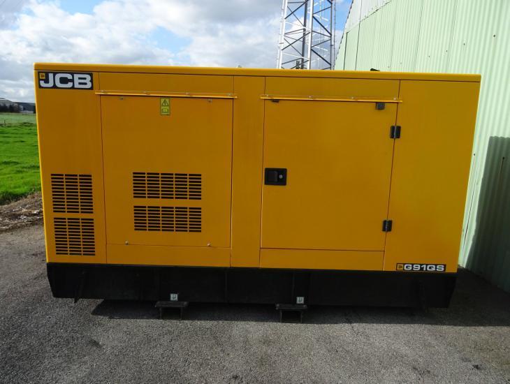 stroomgenerator JCB G90QS