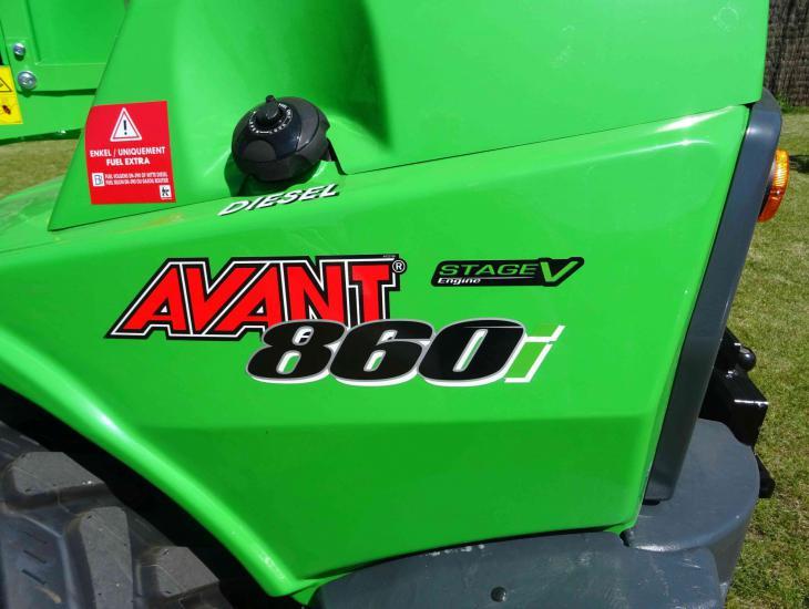 Compacte wiellader Avant 860_15
